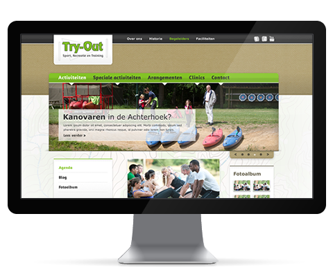 Try-Out Sport - Website