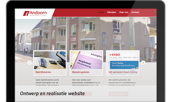 Screen: Website